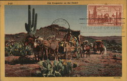 Old Prospector on the Desert