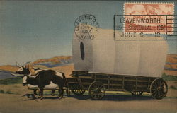 THE COVERED WAGON PRAIRIE SCHOONER OF THE WEST