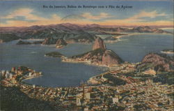 Sugar Loaf Mountain and Bay of Botafogo