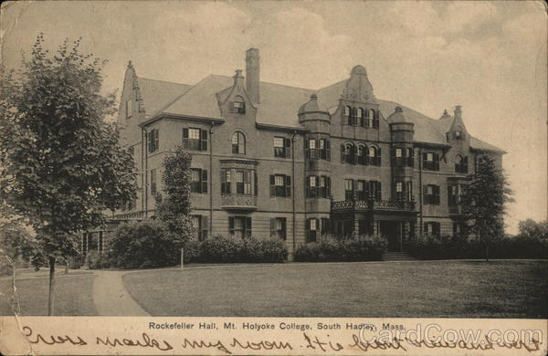 Rockefeller Hall at Mt Holyoke College South Hadley Massachusetts