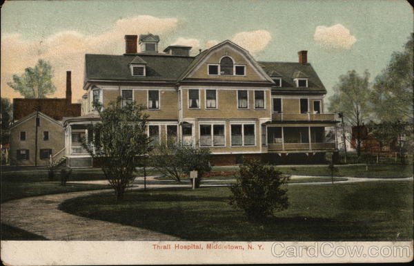 Thrall Hospital and Grounds Middletown New York
