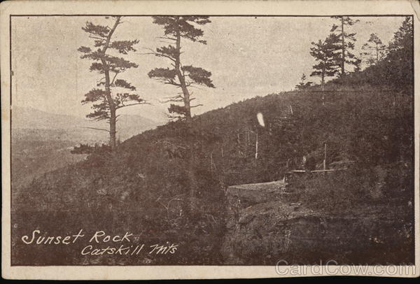 Sunset Rock, Catskills New York