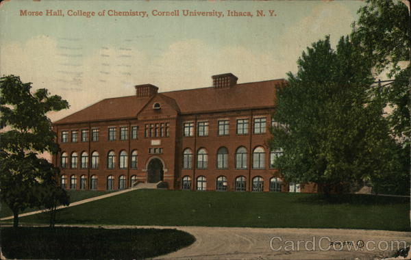 Cornell University - Morse Hall, College of Chemistry Ithaca New York