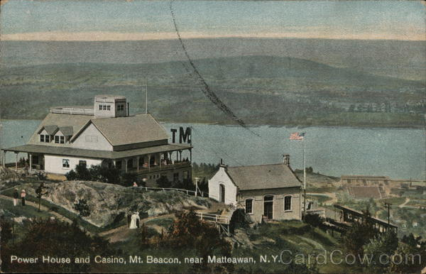 Power House and Casino at Mt Beacon Matteawan New York