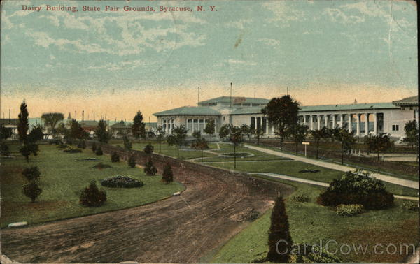 Dairy Building, State Fair Grounds Syracuse New York