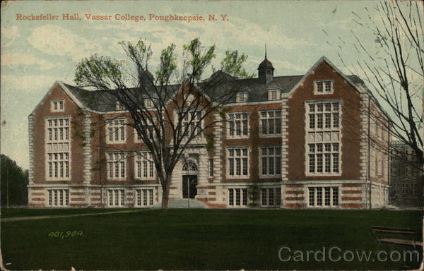 Rockefeller Hall, Vassar College Poughkeepsie New York