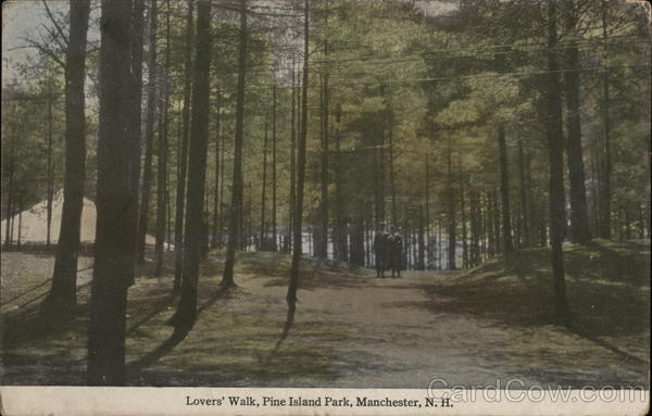 Lovers' Walk at Pine Island Park Manchester New Hampshire