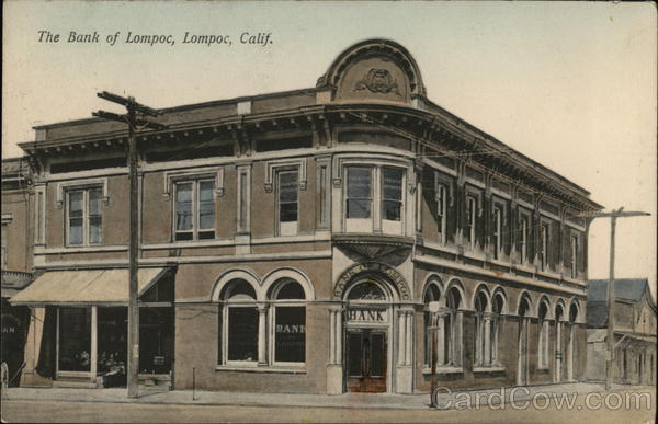 The Bank of Lompoc California