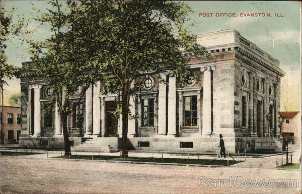 Post Office Building Evanston Illinois