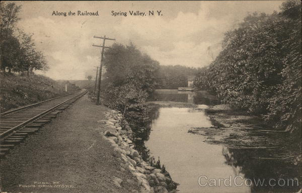 Along the Railroad Spring Valley New York