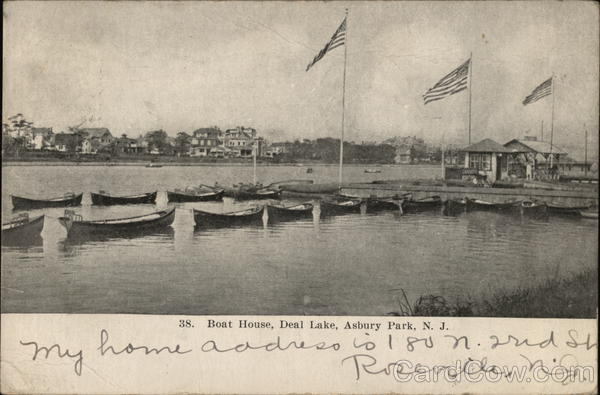 Boat House, Deal Lake Asbury Park New Jersey