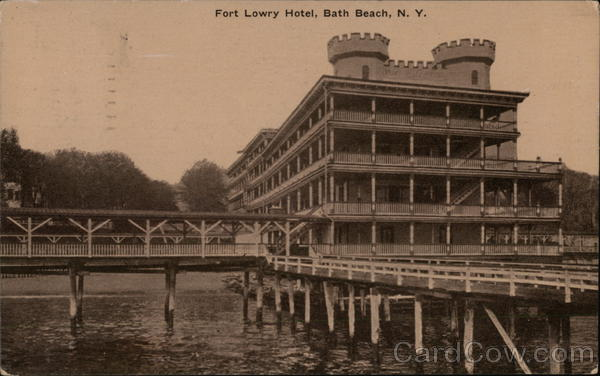 Fort Lowry Hotel Bath Beach New York