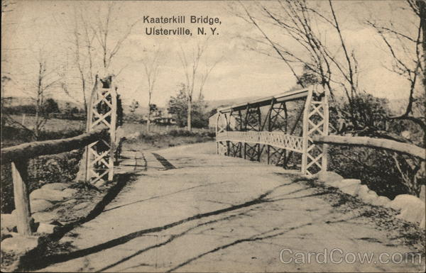Kaaterkill Bridge Ulsterville New York