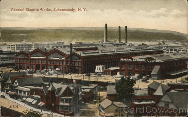 General Electric Works Schenectady New York