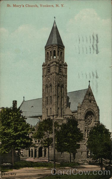 St. Mary's Church Yonkers New York