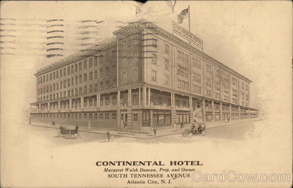 Continental Hotel - South Tennessee Avenue Atlantic City New Jersey
