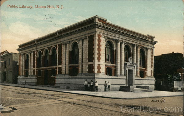 Public Library Union Hill New Jersey