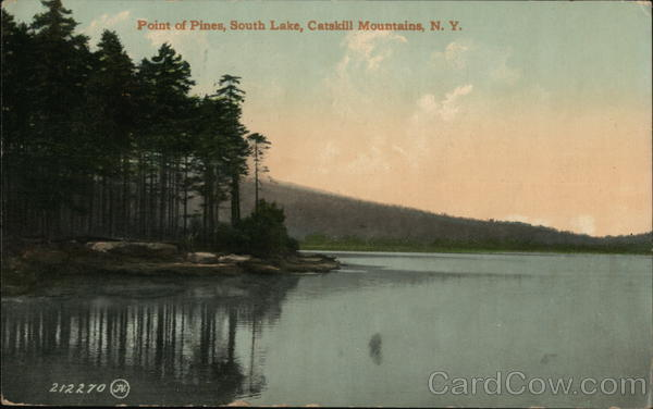 Point of Pines, South Lake Catskills New York