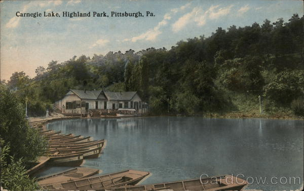 Carnegie Lake, Highland Park Pittsburgh Pennsylvania