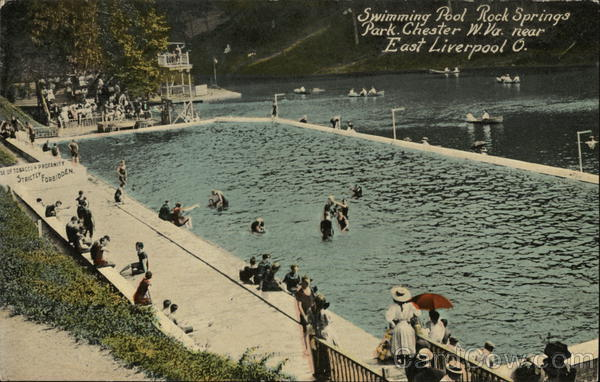 Swimming Pool, Rock Springs Park Chester West Virginia
