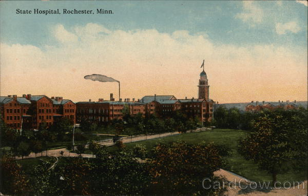 State Hospital and Grounds Rochester Minnesota