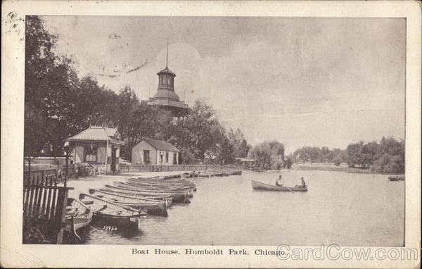 Boat House at Humboldt Park Chicago Illinois