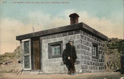 Can House - Built of Coal Oil Cans Postcard