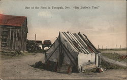 One of the First in Tonopah Postcard