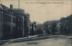 State Armory and Highland Avenue