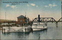 Reckeaston Pier and Hudson River Building