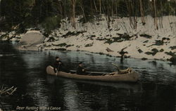 Deer Hunting With a Canoe