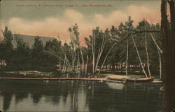 Canon Landing, Sir Charles Hotel, Craigs Point, Lake Maranacook