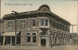 The Bank of Lompoc Postcard