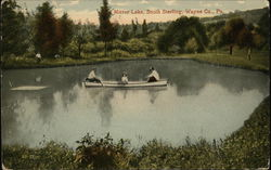 Mirror Lake in Wayne County