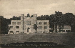 The Gymnasium, Bryn Mawr College Postcard