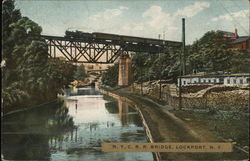 NYC RR Bridge Postcard