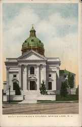Saint Catharine's Church Postcard