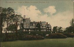 Rockwood Hall - Home of William Rockefeller