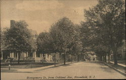 Montgomery Street from Oakland Avenue