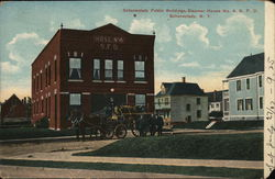 Schenectady Public Buildings, Steamer House No. 4, S.F.D.