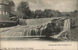 Turning Mill Falls Postcard