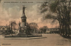 Soldiers' Monument at Oneida Square