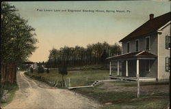 Fico Lovers Lane and Edgewood Boarding House