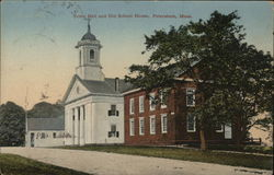 Town Hall and Old School House