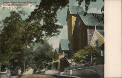 Coloma Street Showing Episcopal Church