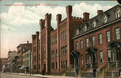 Meadow Street and Armory