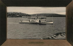 A White Line Steamer