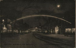 Elm Street - Night Scene with Electric Arches