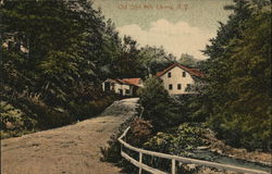 Old Grist Mill Postcard