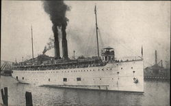 The Ill-Fated SS Eastland Which Turned Turtle in the Chicago River